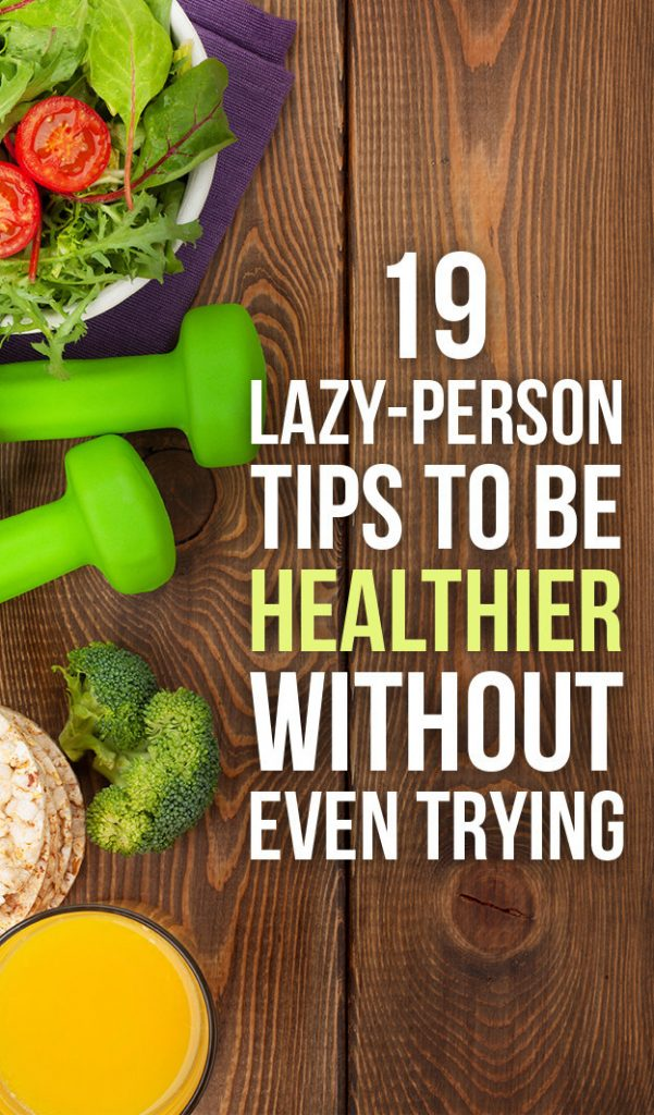 tips to be healthier