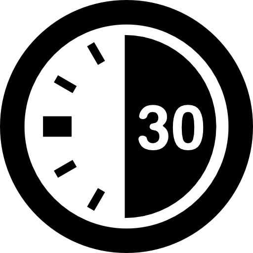 clock 30 seconds