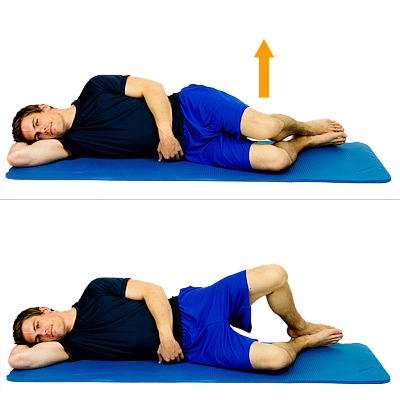 Clamshell Exercise For Knee Back Hip And Ankle Pain