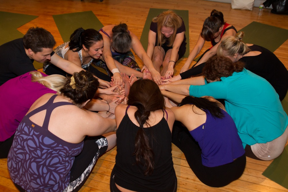 group stretch