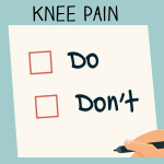Do's and Don'ts of Knee Pain